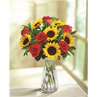 Rose-Sunflower-Vase